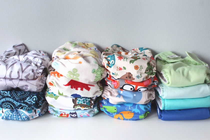 Green Cloth Diapers